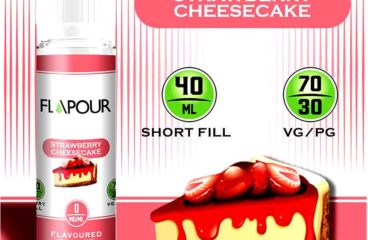 Strawberry Cheesecake by Flapour!