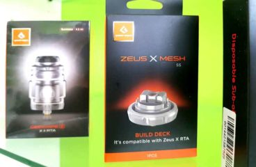 Zeus X Mesh Build Deck by GeekVape!!