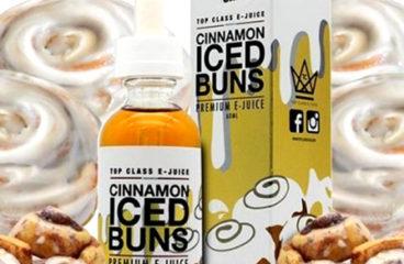 Cinnamon Iced Buns by Top Class E-Juice